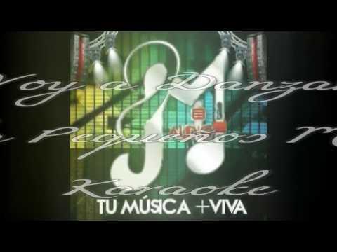 Banda Pequeños Musical-- Voy A Danzar- Karaoke