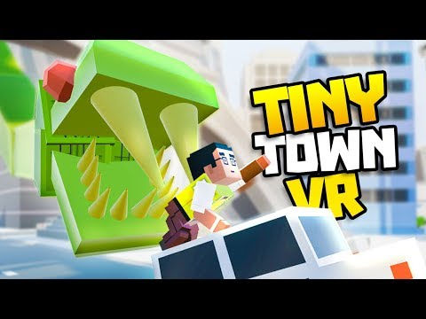 GIANT SNAKE TAKES OVER CITY! - Tiny Town VR Gameplay Part 13 - VR HTC Vive Gameplay