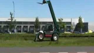 MANITOU MT1232S telescopic loader