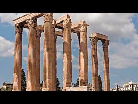 Temple of Zeus Athens  Στηλες Ολυμπιου Διος