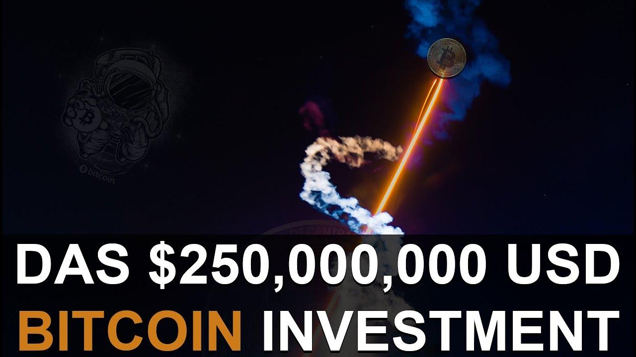 bitcoin-investition 250 bitcoin ist eine gute oder schlechte sache