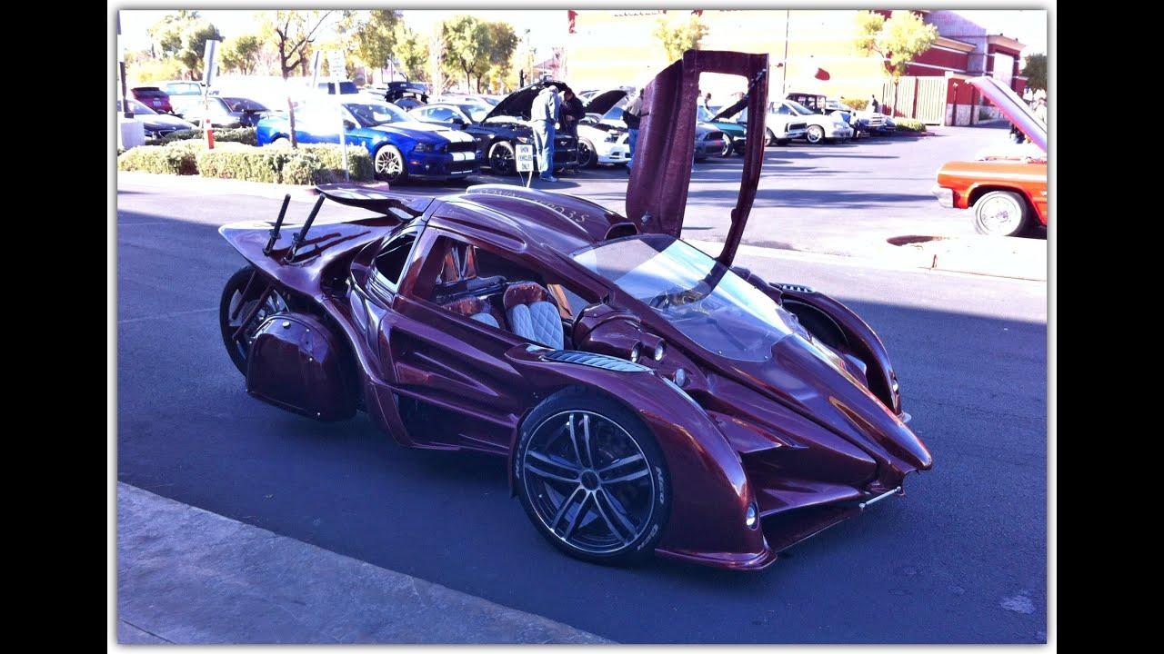 T-Rex Ronin Samurai Style Trike/Car - YouTube