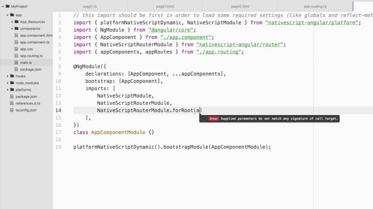 Navigating A NativeScript App With The Angular Router