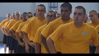 Recruits Baseline Physical Fitness Assessment