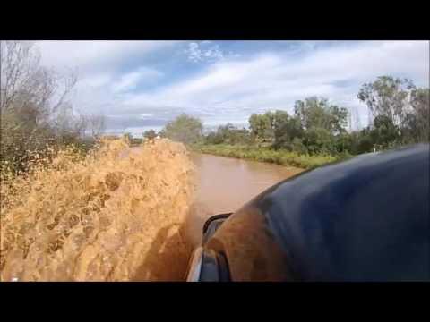 Flooding in the Simpson Desert