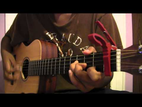 R City - Locked Away (acoustic guitar cover) - YouTube