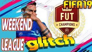 FUT CHAMPS Weekend League Glitch Fifa 19 PS4 XBOX PC