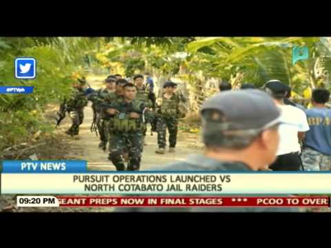 Pursuit operations launched vs North Cotabato jail raiders