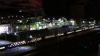 KATO EF510牽引の寝台特急北斗星デラックス編成