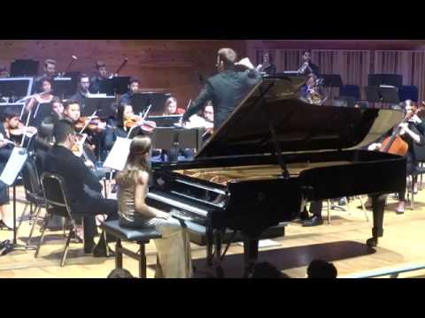 Concerto No. 2 in F minor op. 21, F. Chopin - Enriqueta Somarriba, piano