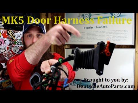 How The MK5 VW Door Harness Fails  YouTube