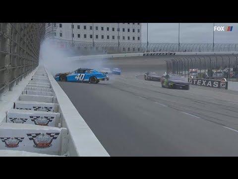 NASCAR Xfinity Series 2018. Texas Motor Speedway. Chad Finchum Spins