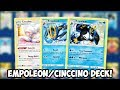 Dual Empoleon/Cinccino Deck! Are the Empoleons Good?! Sword & Shield PTCGO