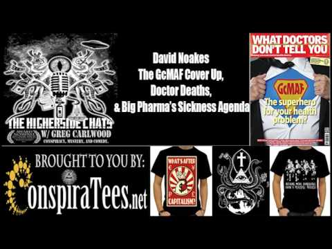David Noakes | The GcMAF Cover Up, Doctor Deaths, & Big Pharma's Sickness Agenda
