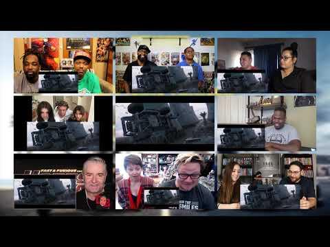 #1 Fast U0026 Furious Present : Hobbs U0026 Shaw Final Trailer Reaction Mashups
