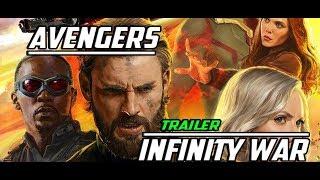 Avengers:Infinity War Trailer D23/Мстители Война Бесконечности(субтитры на русском)