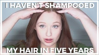 I Haven't Shampooed My Hair In Five Years ♥ No 'Poo Hair Update!
