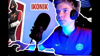 I'm DEBLOQUE THE IKONIK SKIN A 1000 on FORTNITE BATTLE ROYAL !!!