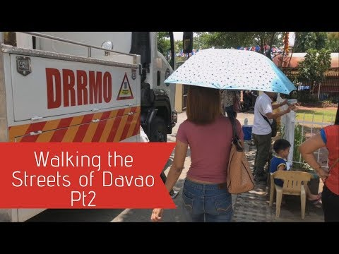 Walking the Streets of Davao City Philippines Pt2