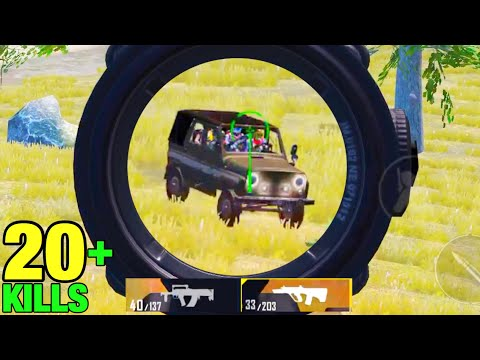 What happens When a Pro Squad Tried to Rush Me? | PUBG MOBILE