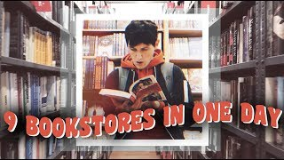 VISITING 9 BOOKSTORES IN ONE DAY!
