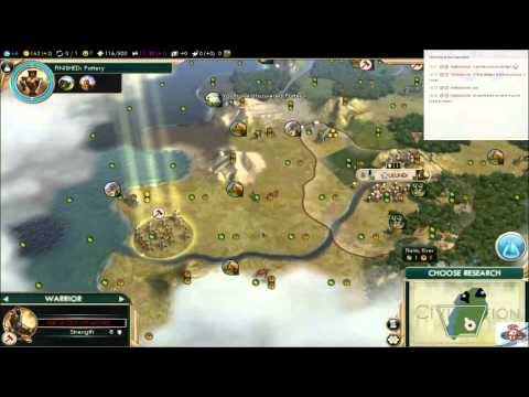 IUPlays Civilization V As Shaka Again (E001) This is Zululand