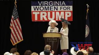 "Virginia Women for Trump shares Memorable Moments with Alice and  ""The Donald""  (2/3)"