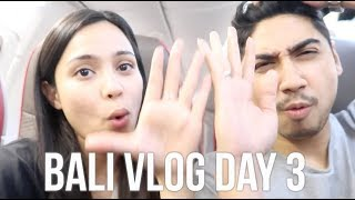 OMG DID WE JUST EAT THAT MUCH?! BALI VLOG DAY 3