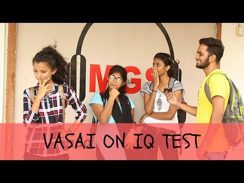 VASAI ON IQ TEST (POKE A PRANK)