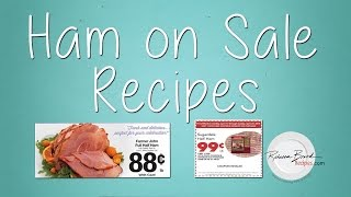 Recipes For Ham On Sale - Easter Ham