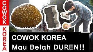 COWOK KOREA Mau Belah DUREN!!   Korea Vlog 5-1(ep.DURIAN REACTION)