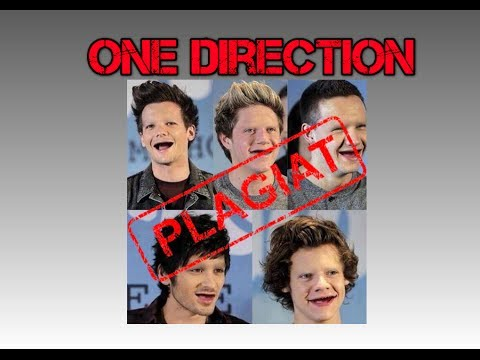 One direction Plagiat !