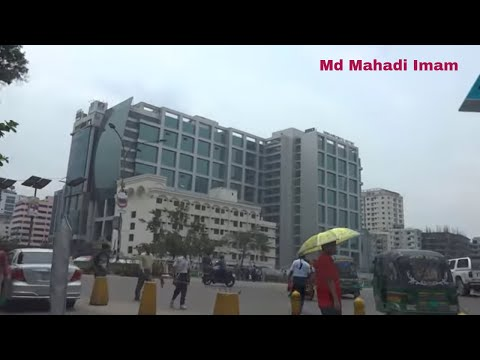 Dhaka City Drive  -(Tejgaon to Panthapath) Bangladesh