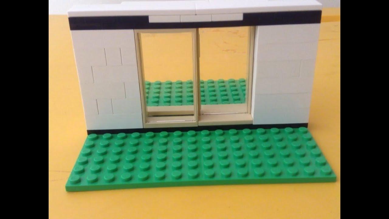 Como hacer una puerta corrediza de lego youtube for Como hacer una puerta corrediza casera