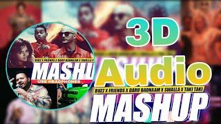 Best Of Taki Taki 3D Audio Songs   Daru Badnaam   Buzz  Mashup   Bass Boosted  10D Songs Hindi