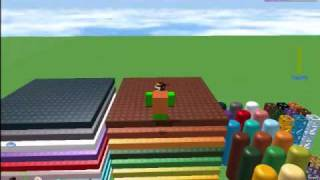 ROBLOX Tutorial August 2009: Cool Brick Tricks.