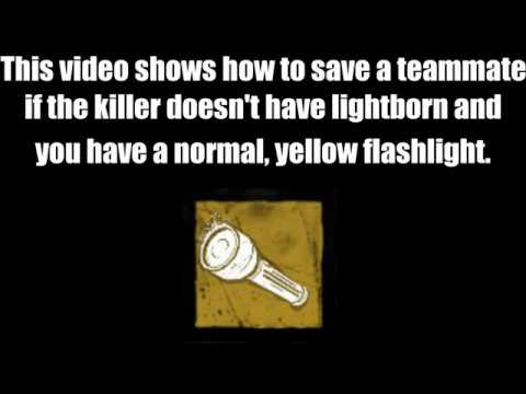 Dead By Daylight | How to Flashlight Save.  [2018]