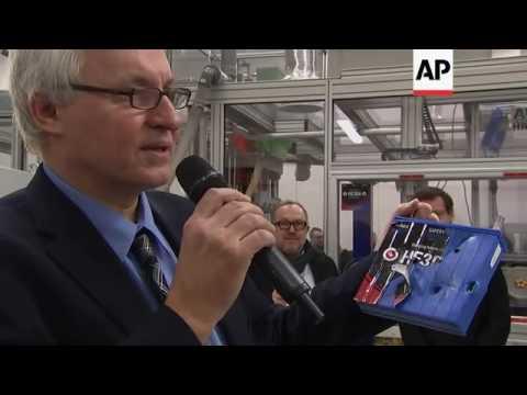 Production line opens making nanotech batteries