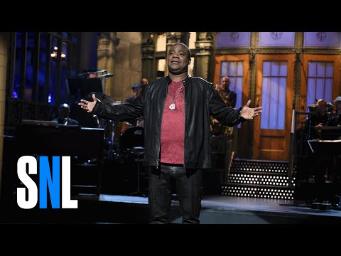 SNL - Tracy Morgan Monologue Reunites 30 Rock Cast