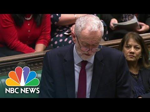 U.K. Lawmakers Vote For Brexit Delay | NBC News