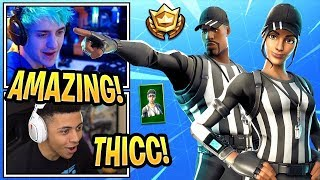 New Whistle Warrior Skin Gameplay!!!! (Fortnite battle royale)