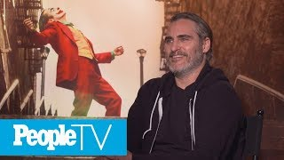 Joaquin Phoenix Exits Interview After Asked If 'Joker' Will 'Inspire' Violence: Report | PeopleTV