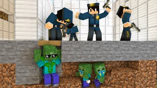 Monster School : PRISON ESCAPE 3 CHALLENGE - Minecraft Animation