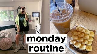 MONDAY ROUTINE | meal prep, whole foods haul, weekly prep