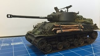 Tamiya's  M4A3E8 Sherman complete build and review  Kit 35346