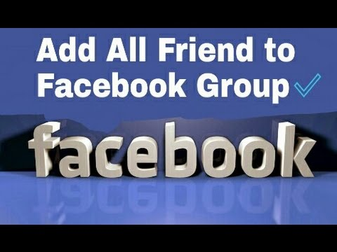 How to Add Auto Members in Facebook Group
