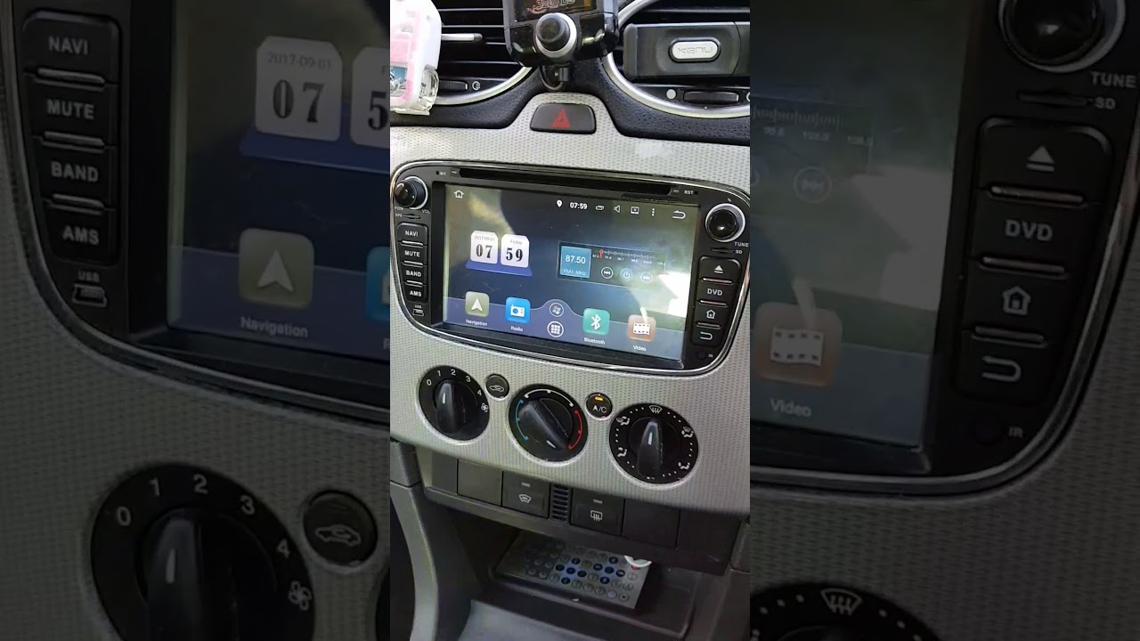 Ford focus head unit(touch screen not working)