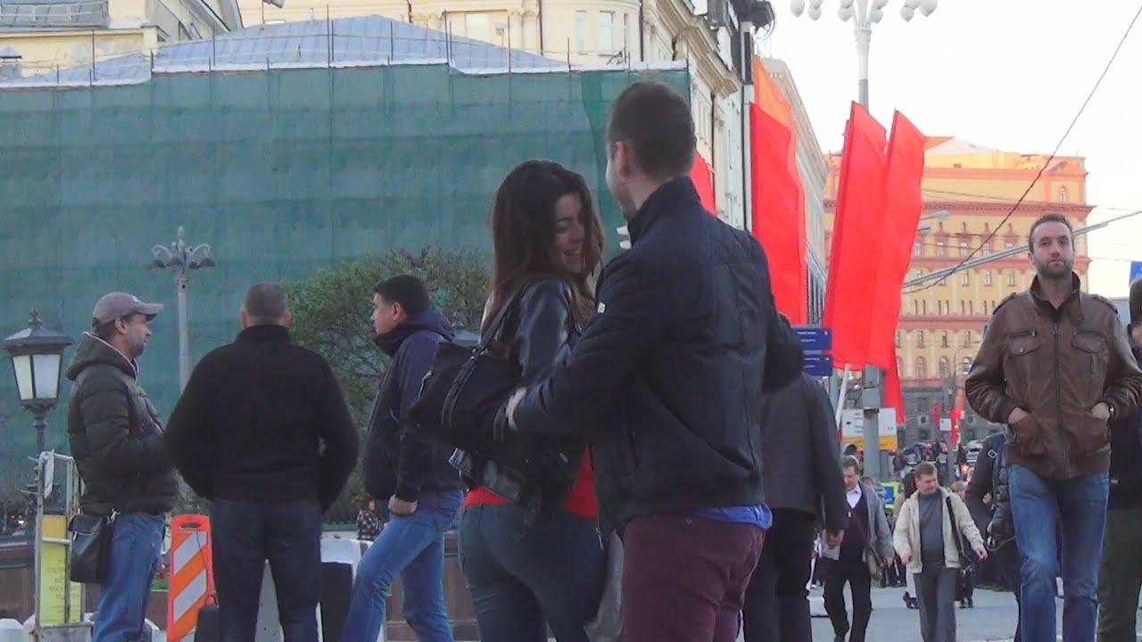 знакомство парня с девушкой на улице