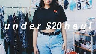 under $20 clothing haul // Aliexpress Haul #1 | Plus size fashion