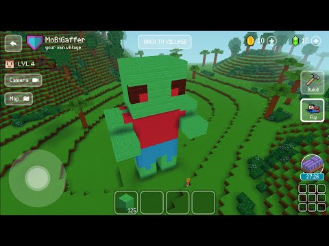 Block Craft 3D : Building Simulator Games For Free Gameplay #124 (iOS & Android) | Zombie